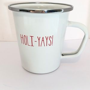 Holiday-Yays! Target Christmas Enamelware 16oz Mug
